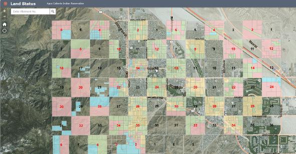 Land Status Web App